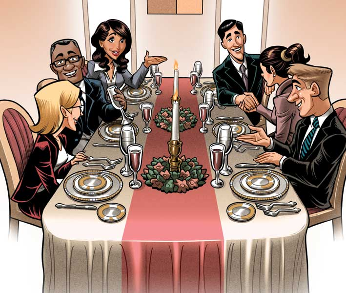 BOOK | A GRAND DINNER PARTY