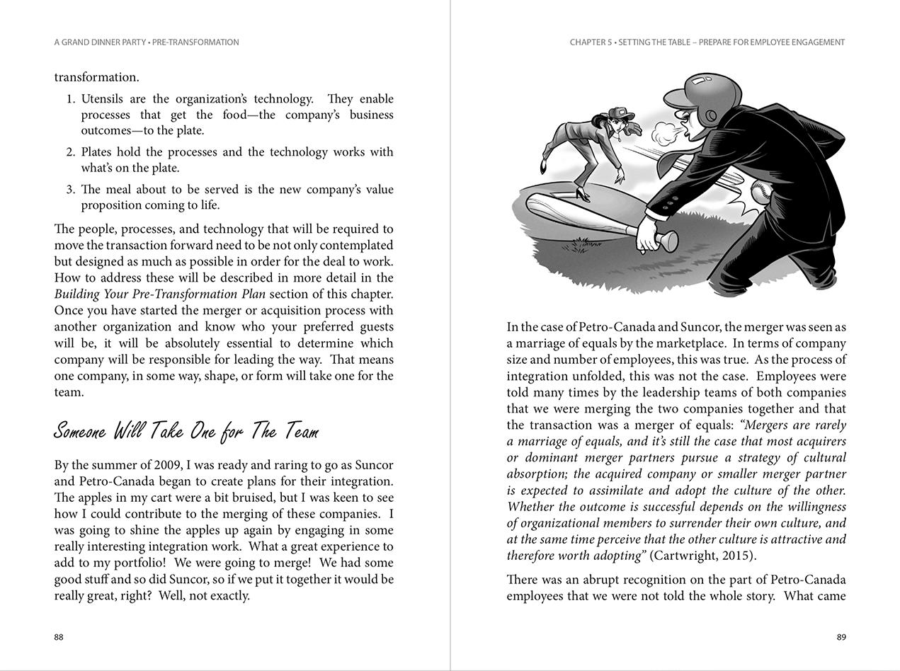 book interior design page examples