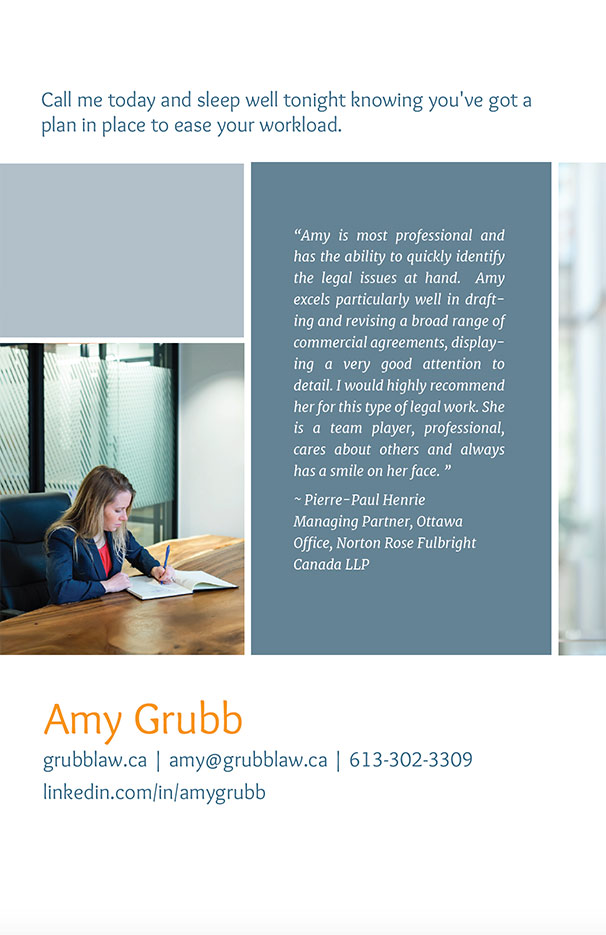 Brochure Design Ottawa